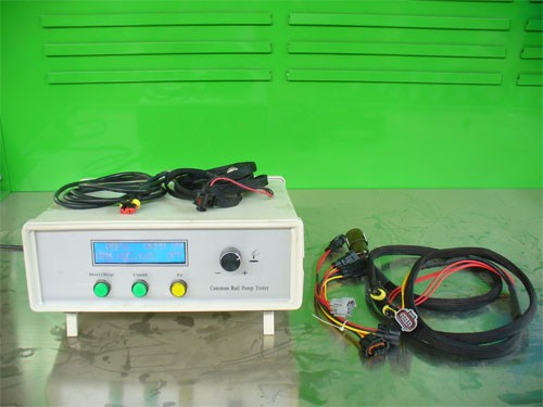 Common rail pump tester simulator