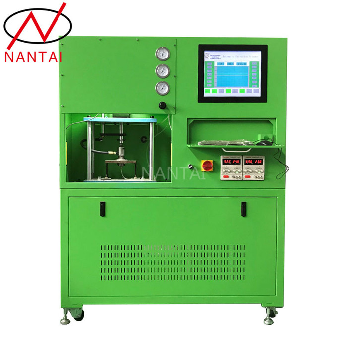 Micro-hole extrusion grinding machine for nozzles and control valve